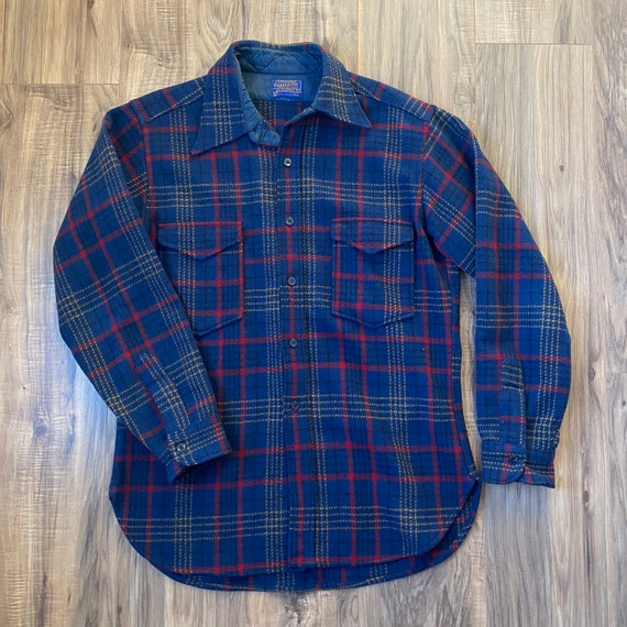 Pendleton Flannel Vintage Large Thick Warm Outdoor