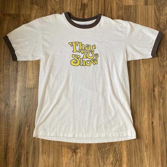 That 70s Show T Shirt XL Vintage Ringer Fox Promo