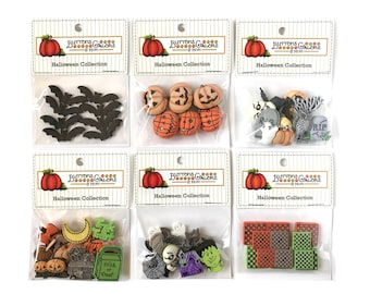 Dritz Dangling Shell Button-Ocean Buttons Galore 45+ Halloween B