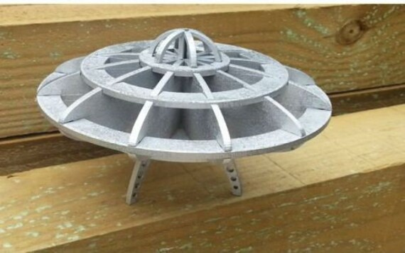 Digital Plan Flying-Saucer Vector Cutting Plan is Suitable For Commercial  Use 3D Model for CNC Machining Relief Model for CNC Routers