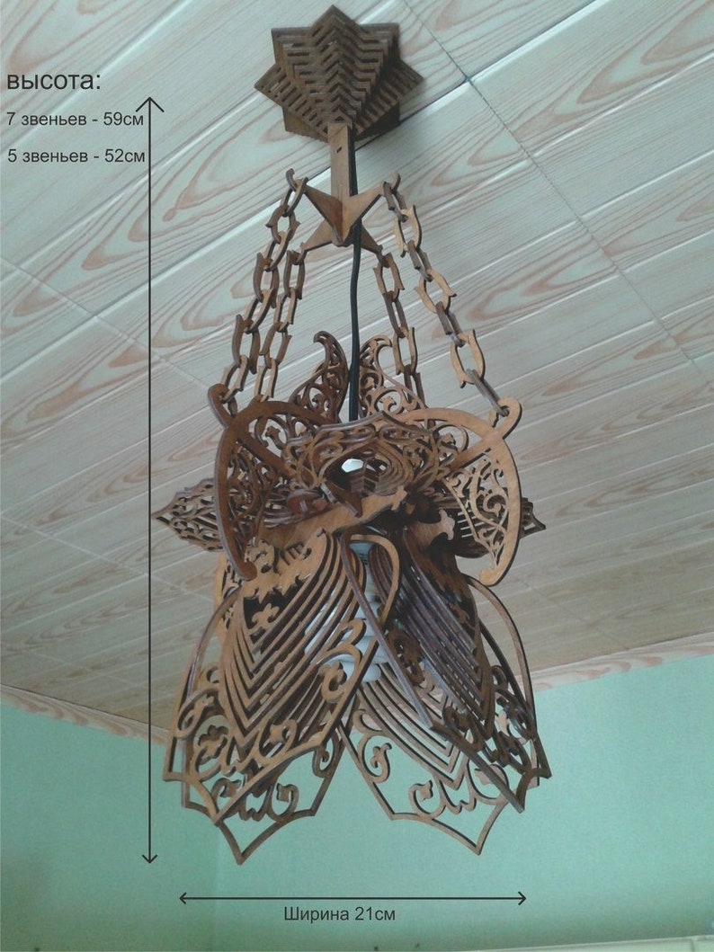 Digital Design Chandelier 3D Model for CNC Machining Relief Model for CNC  Routers 3D Puzzle CNC Laser cut Suitable For Mass Production