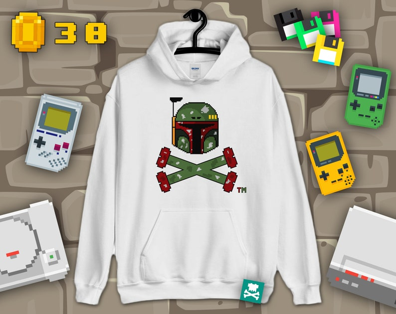 Boba the Mandalorian Boun-Tee Hunter Hoodie The Mandalorian image 0