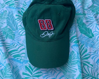 Dale Jr #88 Green Hat