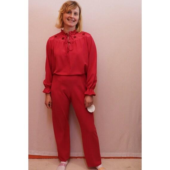 70s/80s pink pyjamas
