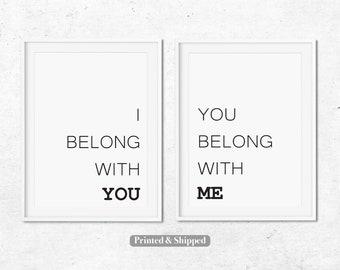 I Belong To You You Belong To Me Etsy
