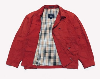 093620ec452 Vintage 90s Burberrys Nova Check Inside Jacket