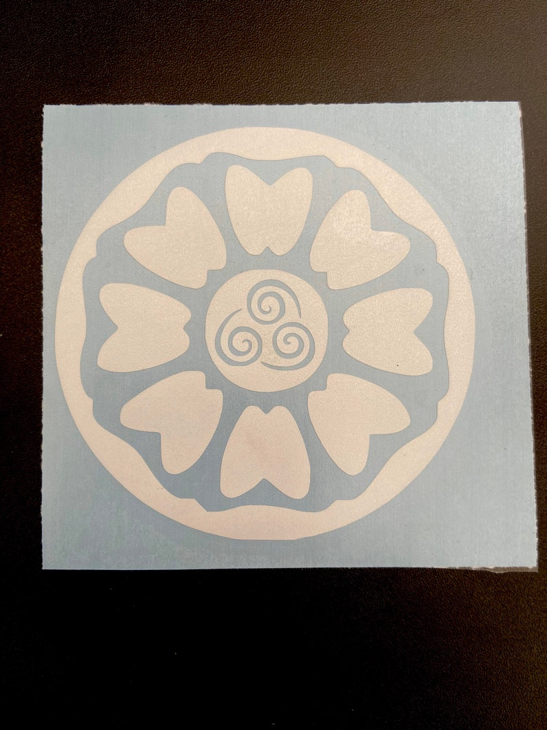 Water Tribe Vinyl Decal Avatar The Last Airbender