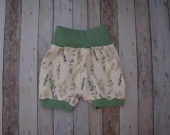 62-74 t/ürkis Unisex Baby Pumphose Schlupfhose Babyhose newborn Gr