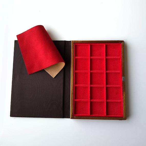 Art. LIP15 Libro Vassoio Numismatico per Monete, 15 piazze Prodotto by ZECCHI Small Book-Tray for Coins Produced by ZECCHI