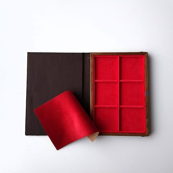 Art. LIP06 Libro Vassoio Numismatico per Monete,6 piazze Prodotto by ZECCHI Small Book-Tray for Coins Produced by ZECCHI
