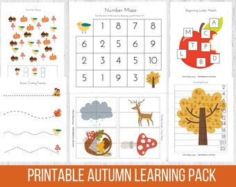 Early autumn Autumn Early Learning Pack, Pr