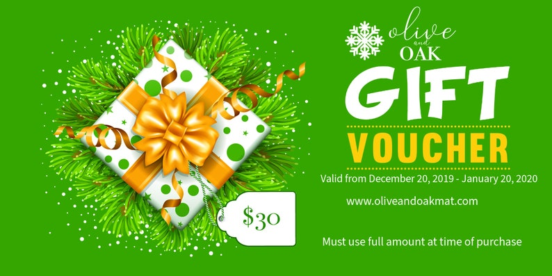 Gift Certificate to Olive and Oak Mats  30 Dollars image 0