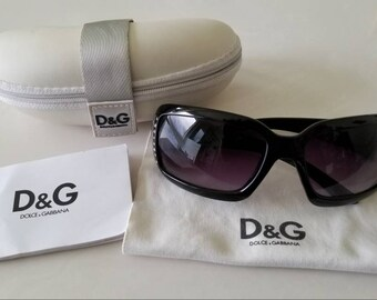8cc37e6728c9 Free shipping. Save your eyes in vintage style. Dolce Gabbana sunglasses  authenticity card, cleaning cloth, and case included