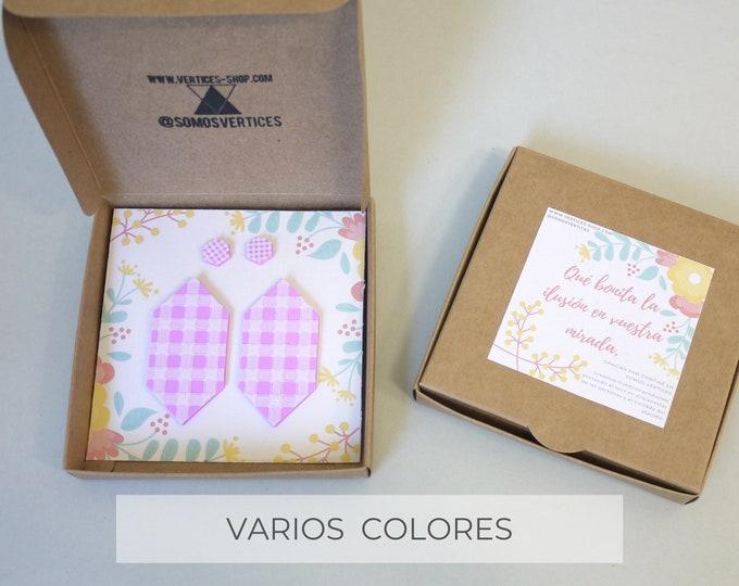 Colección Vichy: Gema - Conjunto de pendientes para madres e hijas