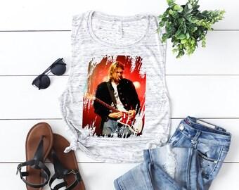 7b03c61b Kurt Cobain Vintage T-Shirt, Nirvana T-Shirt, Music Festival Shirt, 90's  Vintage Rock Band Shirt, Concert T-Shirt, Band T-Shirts