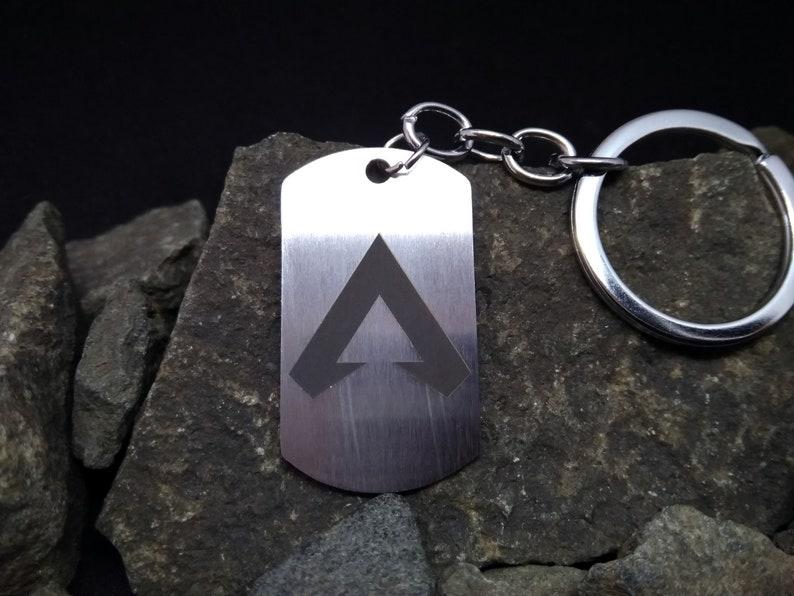 25. Apex Legends Keychain Necklace