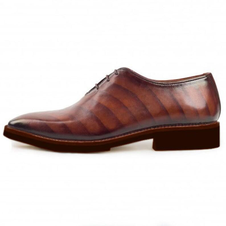 Johny Weber Hand Made Double Shade Oxford Shoes