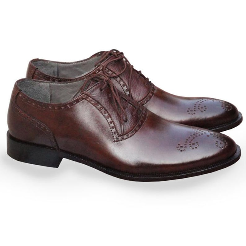 Johny Weber Handmade Classic Style Oxford Shoes