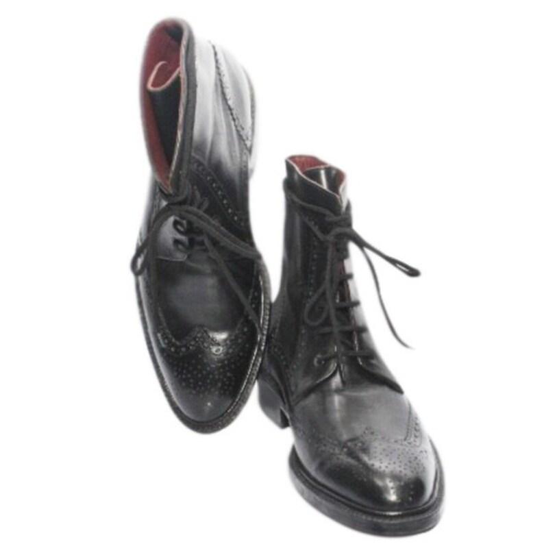 Johny Weber Handmade Mens Lace Up Leather