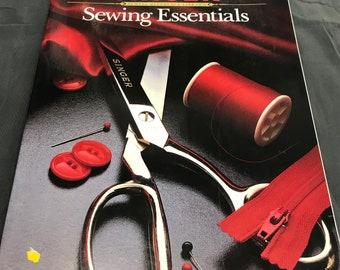 Vintage Singer Sewing Essentials Sewing Book - Vintage Pattern Books -Singer Sewing Tips and Tricks