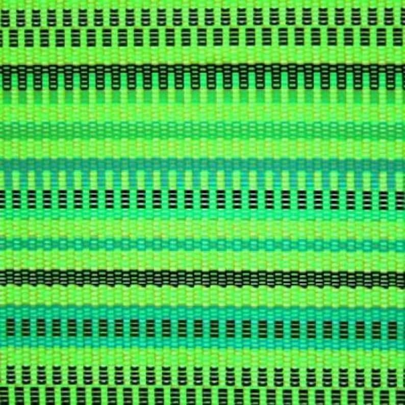 Sewing Materials Green Sold By The Yard Matte Woven Carpet Print On Nylon Spandex DIY Fabric 4 Way Stretch Costume Fabric