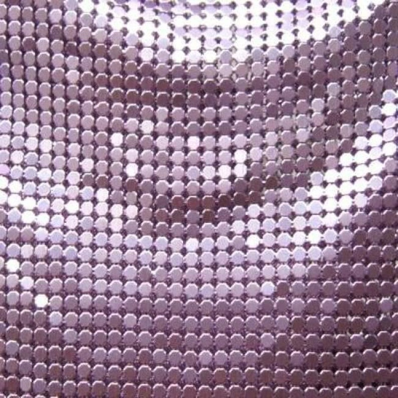 Dusty Rose Sewing Materials Non-stretch DIY Fabric Solid Colored Metal Mesh 18/'/'x 30/'/' Sold By The Yard Costume Fabric