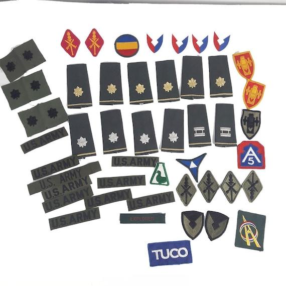 Vintage World War II US Army Military Uniform Army