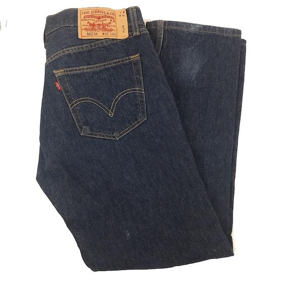 Levis 501xx Vintage Denim Jeans 32 x 32