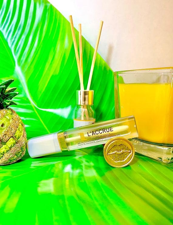 LACCRUE Natural Mint Lip Gloss - Natural Lip Gloss - Lip Care - Plumping Lip Gloss - High Moisture - High Gloss - Lip Plumping - Lips