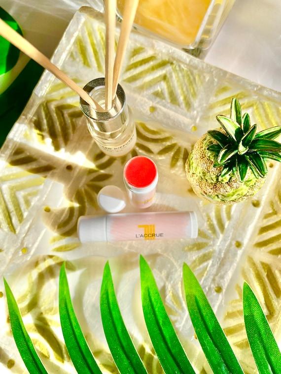 LACCRUE Naturals Cheek and Lip Tint | Natural Tinted Lip Balm | Natural Cheek Tint | 2 in 1 | 5 Minute Make Up | Cheek n Lip Tint | CORAL