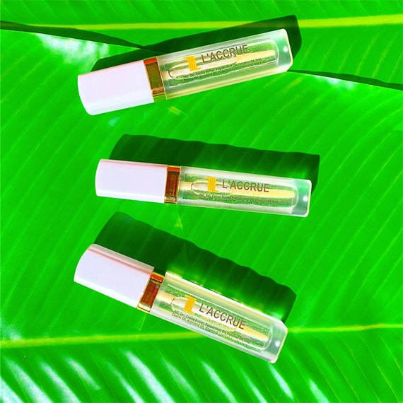 LACCRUE Natural Mint Lip Gloss - Natural Lip Gloss - Lip Care - Plumping Lip Gloss - High Moisture - High Gloss - Lip Plumping - Lips