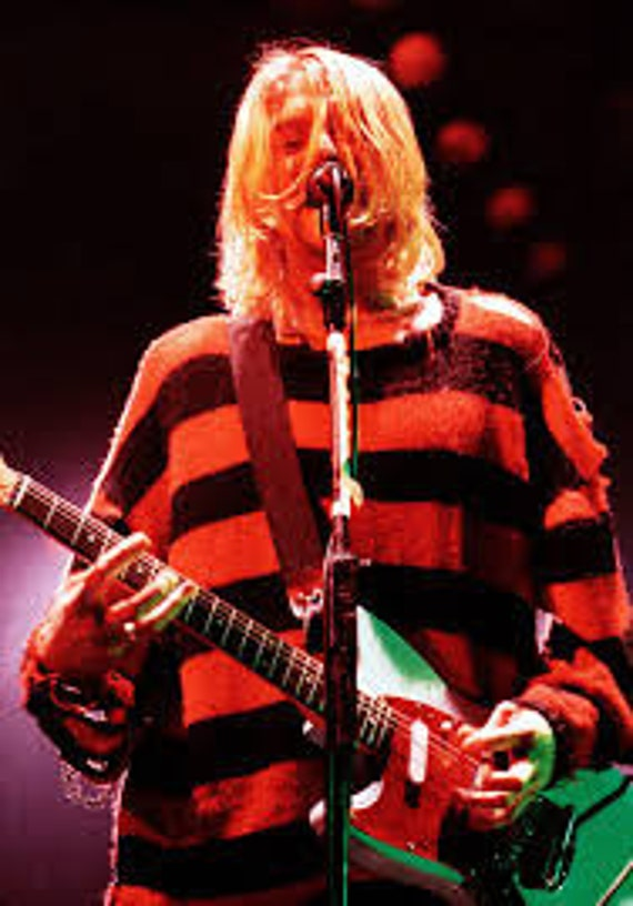 Kurt Cobain's cardigan worn on MTV Unplugged sells for