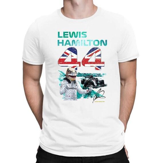 Lewis Hamilton Christmas T-Shirt F1 Racer Festive Gift Adults /& Kids Tee Top