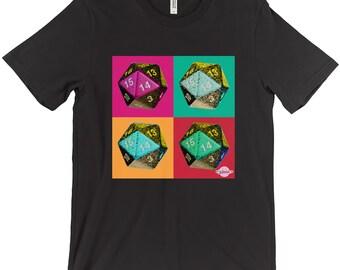 D20 Diptych Tshirt (Warhol Inspired)