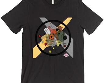 Dice Within Dice Tshirt (Kandinsky Inspired)