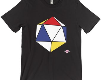 D20 Tableau I Tshirt (Mondrian Inspired)