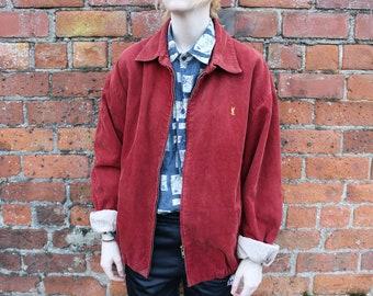 debc572e5 Red harrington | Etsy