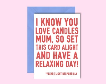 Candle Card...