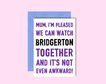 Bridgerton Mother's Day