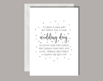 Magic Wedding Card