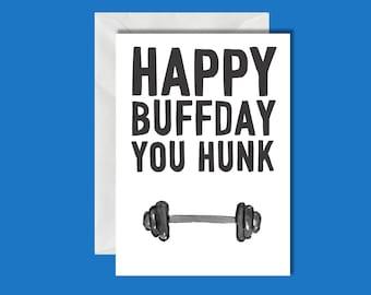 Hunky Card