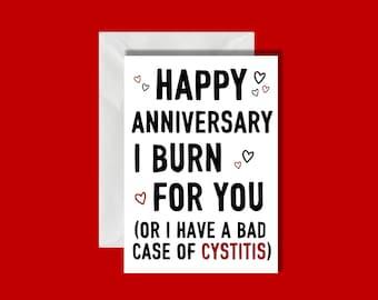 Bridgerton Anniversary Card | Lady Whistledown | Netflix | Cheeky Card | Trending Card | Girlfriend | Boyfriend | Duke Of Hastings