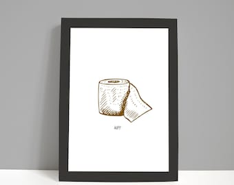 Bathroom Print | Bathroom Decor | Funny Bathroom Print | Set of Prints | Restroom Prints | Toilet | Picture Prints