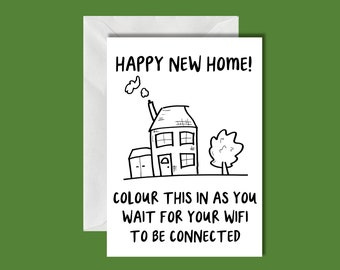 Funny New Home Card!