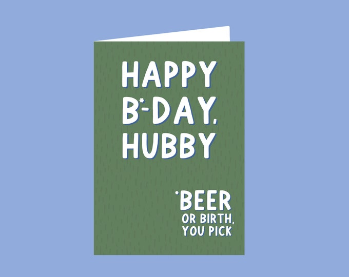 Hubby Card