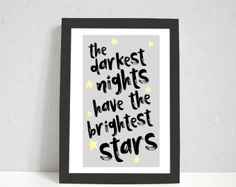 Stars Print   Inspirational Print   Gifts   Motivational Print   Love Print   Bedroom Print   Gifts For Him   Gifts For Her