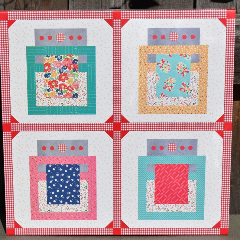 Riley Blake Baked With Love Quilt Kit by Lori Holt featuring Vintage Happy 2 Collection