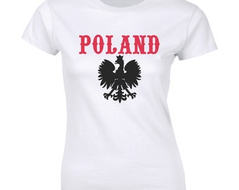 Amdesco Poland Coat of Arms Polish Polska White Eagle Toddler Sweatshirt