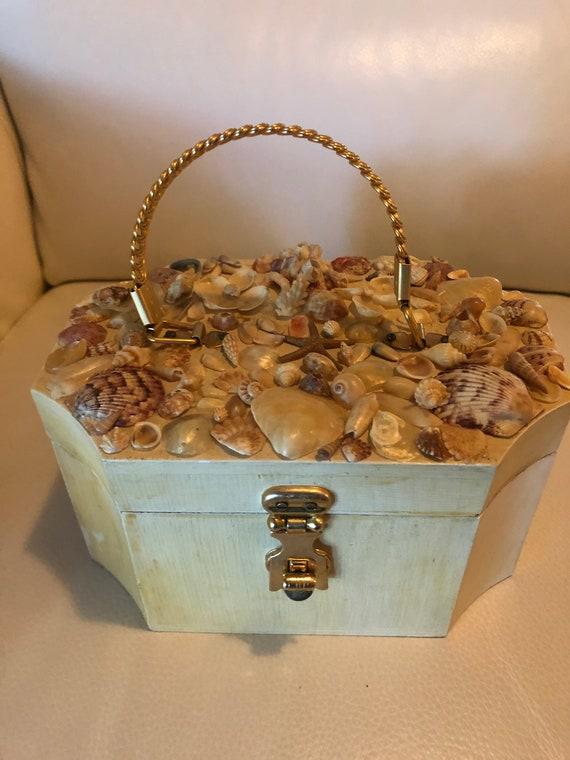 shell purse/craft box