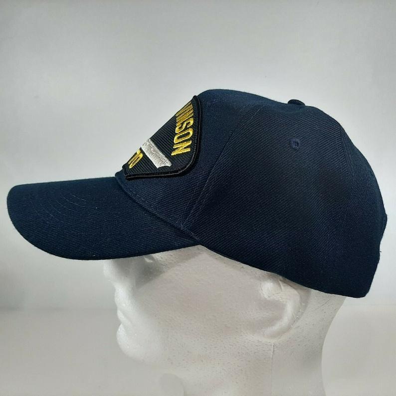 Navy USS Carl Vinson CVN-70 Men/'s Cap Patch Hat Navy Blue Acrylic U.S